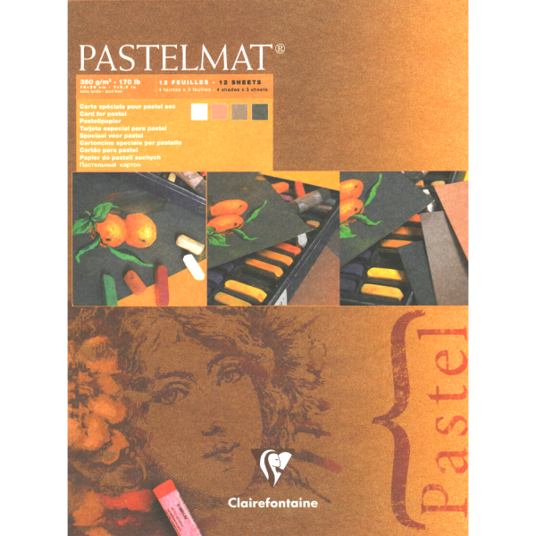 Pastelmat No. 2 (bruin) 360gr 30x40 Clairefontaine