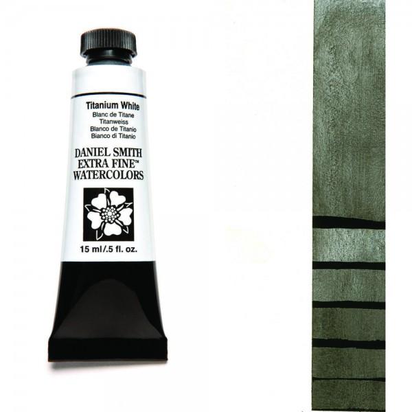 Titanium White Serie 1 Watercolor 15 ml. Daniel Smith