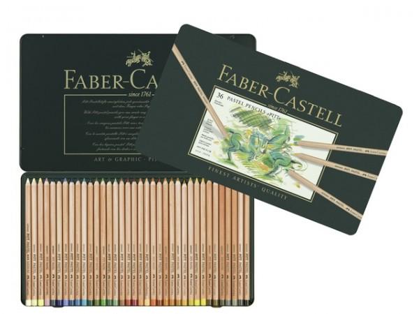 Faber Castell 36 Pastelpotloden Pitt