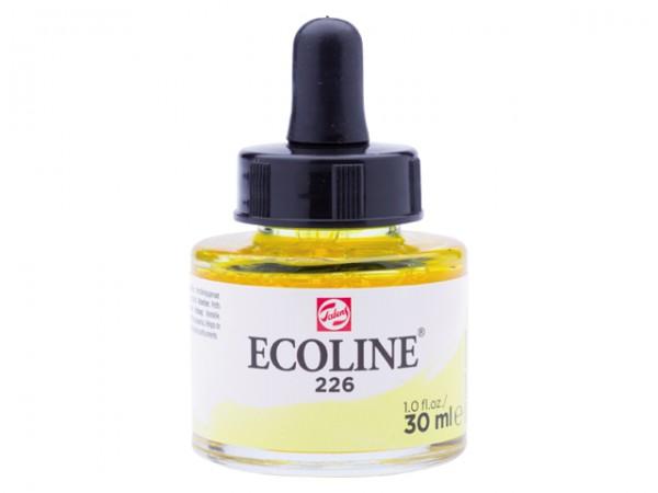 Talens ecoline inkt 30ml - 226 Pastelgeel