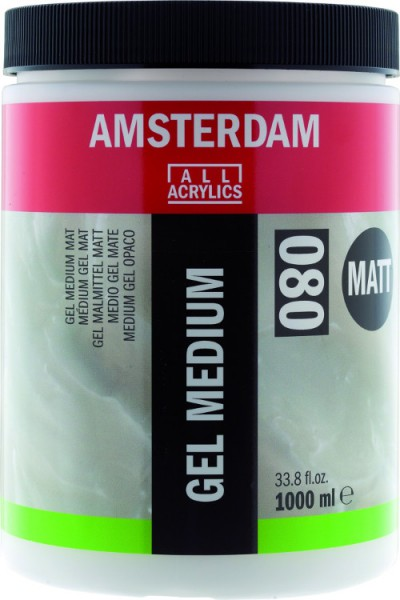 Amsterdam Gel Medium Mat 080 1000ml