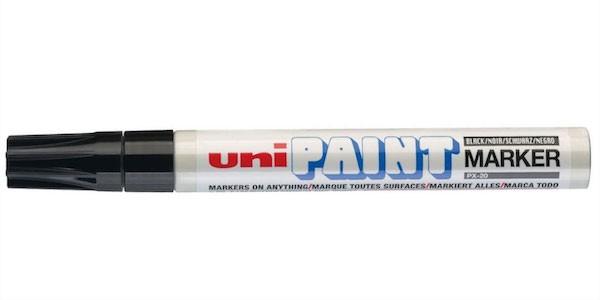 Paint marker PX-20 Zwart