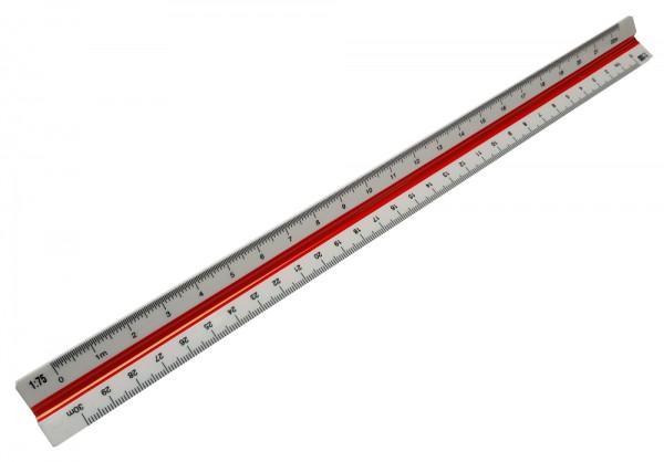 Kunststof schaalliniaal 30cm