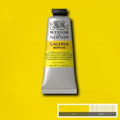 Galeria Acryl 60ml 114 S1 Cadmium Yellow Pale Hue
