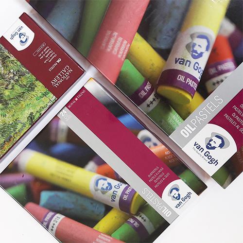 Van Gogh Olie pastels sets