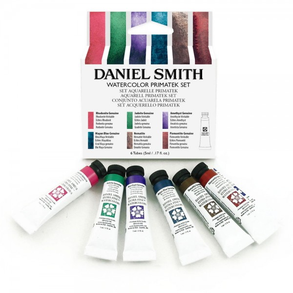 Primatek Introductory Watercolor Set Daniel Smith set 6 tubes 5ml Aquarelverf