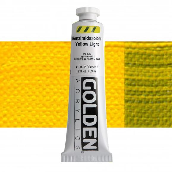 Heavy Body 1009 S3 Benzimidazolone Geel Light Golden 60ml