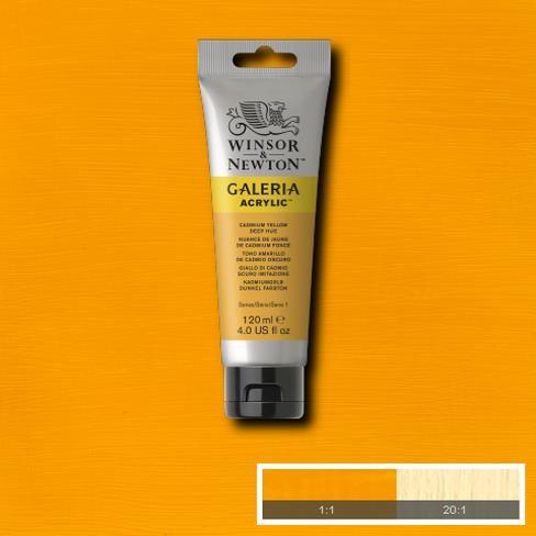 Galeria Acryl 120ml 115 S1 Cadmium Yellow Deep Hue
