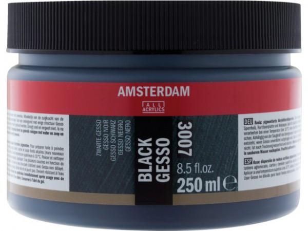 Amsterdam Zwarte Gesso 3007 - 250 ml