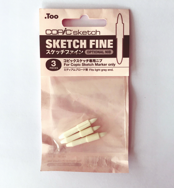 Copic Markerpunten Sketch Fine (3st.) Sketch en Ciao Alcohol Marker