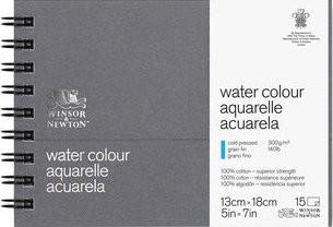 Aquarelpapier Journal fijn papier 15 vel 13x18cm 300gr Winsor & Newton