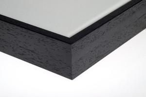 zwarte eco baklijst 80 cm