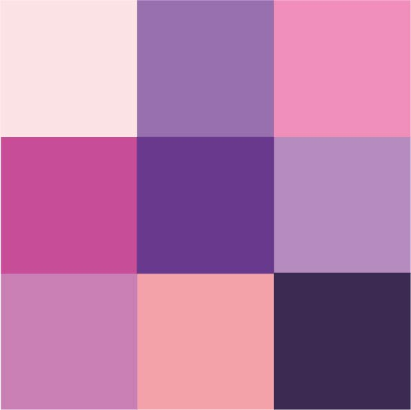 Paars/Violet/Roze