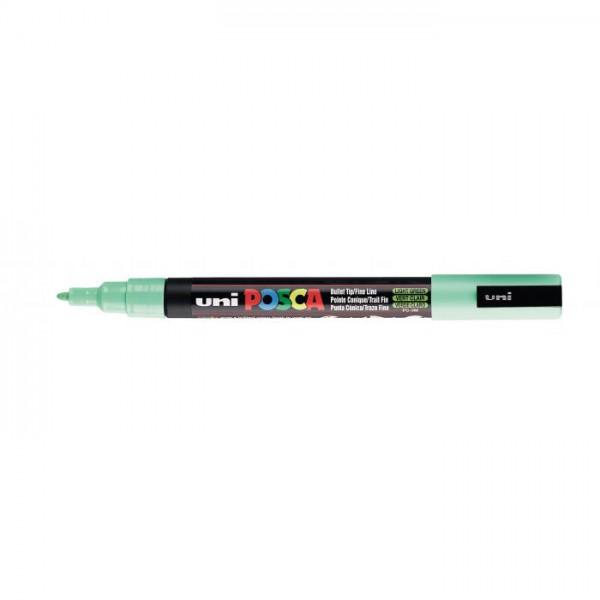 Posca verf stift PC3M Licht Groen Paint marker