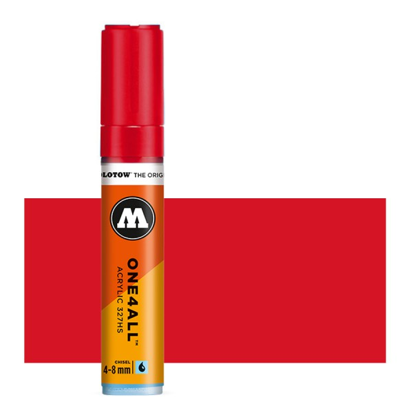 Traffic Red 327HS 4-8mm Molotow One4All Acryl Marker Paint marker