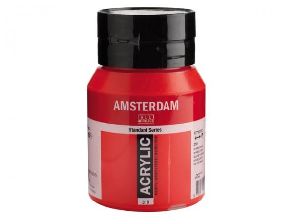 Amsterdam Acryl 500ml 315 Pyrrolerood