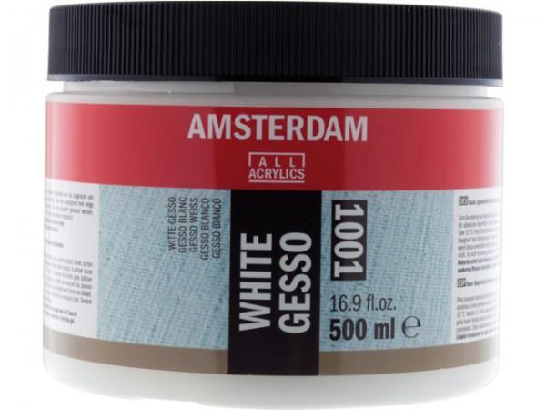 Amsterdam Witte Gesso 1001 - 500 ml