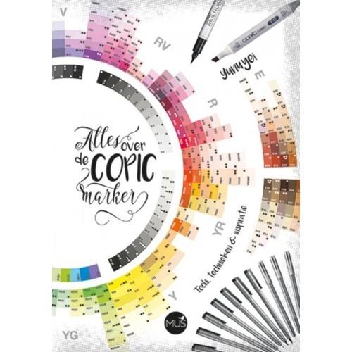 Alles over de COPIC marker - boek - Nadya Knops/Yunuyei