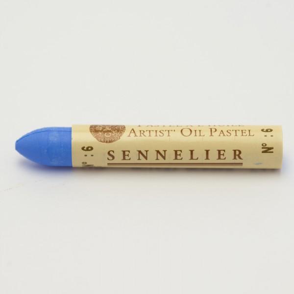 Bleekblauw 6 oliepastel Sennelier 5ml