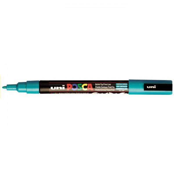 Posca verf stift PC3M Smaragd Groen Paint marker
