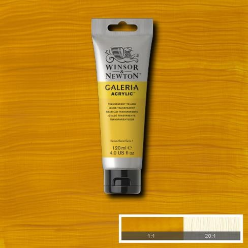 Galeria Acryl 120ml 653 S1 Transparent Yellow