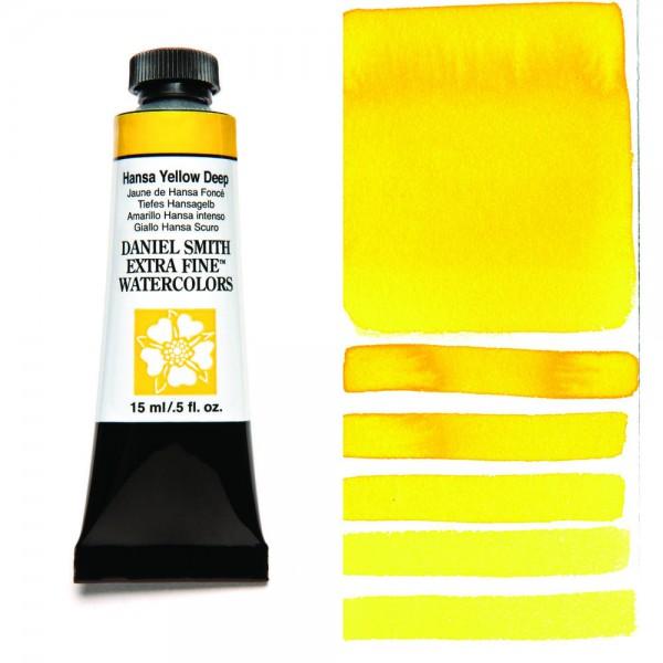 Hansa Yellow Deep Serie 1 Watercolor 15 ml. Daniel Smith