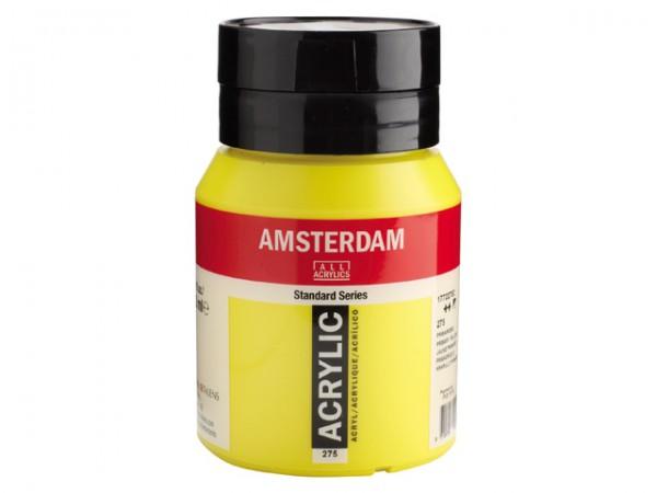 Amsterdam Acryl 500ml 275 Primairgeel