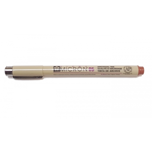 Pigma Micron 05 (0.45mm) BROWN #12 Sakura Fineliner
