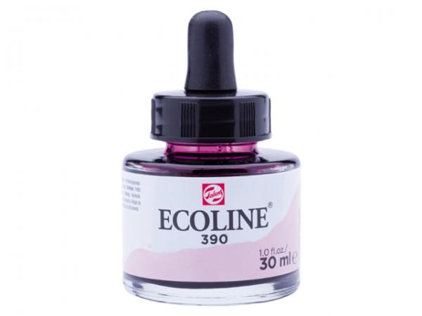 Talens ecoline inkt 30ml - 390 Pastelrose Inkt Kroontjespen