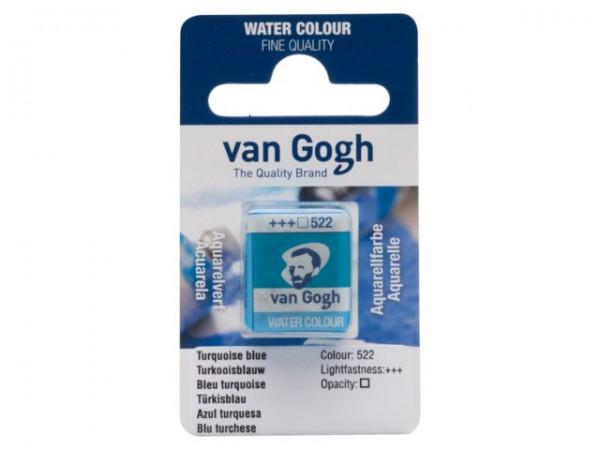 Turkooiseblauw 522 napje Van Gogh Aquarelverf