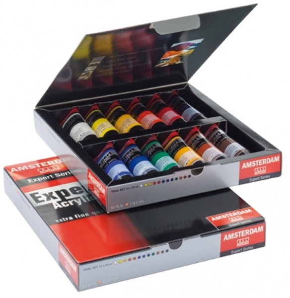 Amsterdam Expert Acrylverf Set 12 x 20 ml