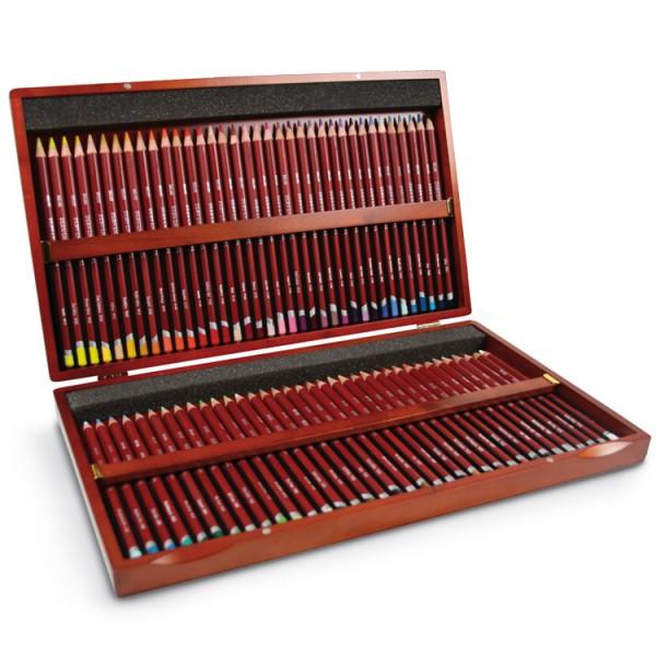 Derwent pastel potloden set hout 72 stuks