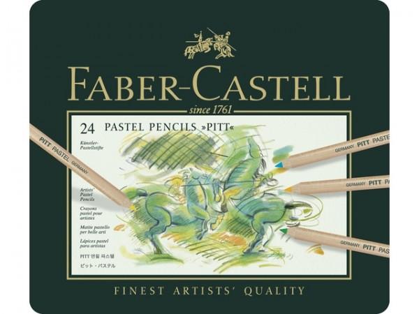 Faber Castell 24 Pastelpotloden Pitt