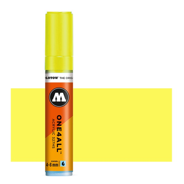 Zinc Yellow 327HS 4-8mm Molotow One4All Acryl Marker Paint marker