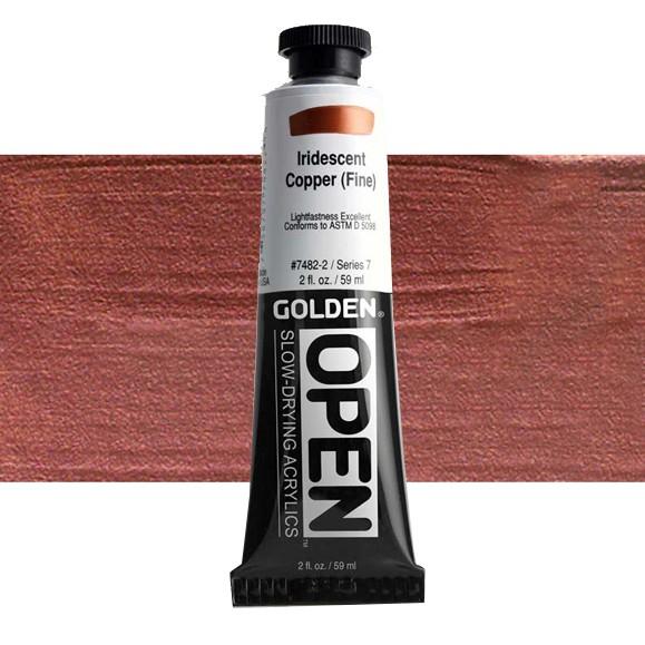 Golden Open 7482 S7 Iridescent Copper (Fine) 60ml
