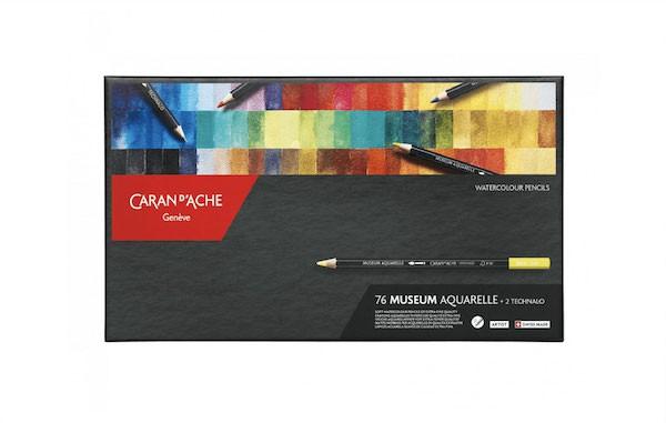 Museum aquarel doos 76 kleuren set Caran D'Ache
