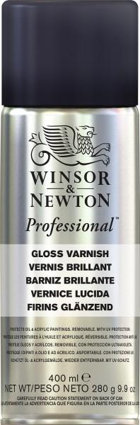 Winsor & Newton Professional Vernis Brillant 400ml Spuitbus