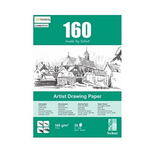 Schut Artist Drawing Paper 160 A4
