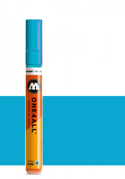 Molotow One4All Acryl Marker 227HS 4mm SHOCK BLUE MIDDLE Paint marker