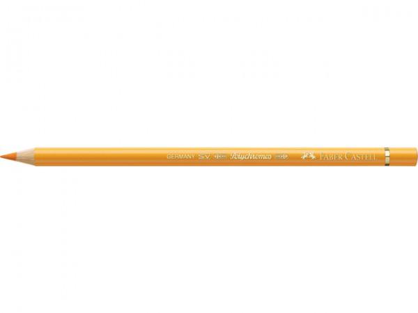 Polychromos 109 chroomgeel donker Faber Castell kleurpotlood