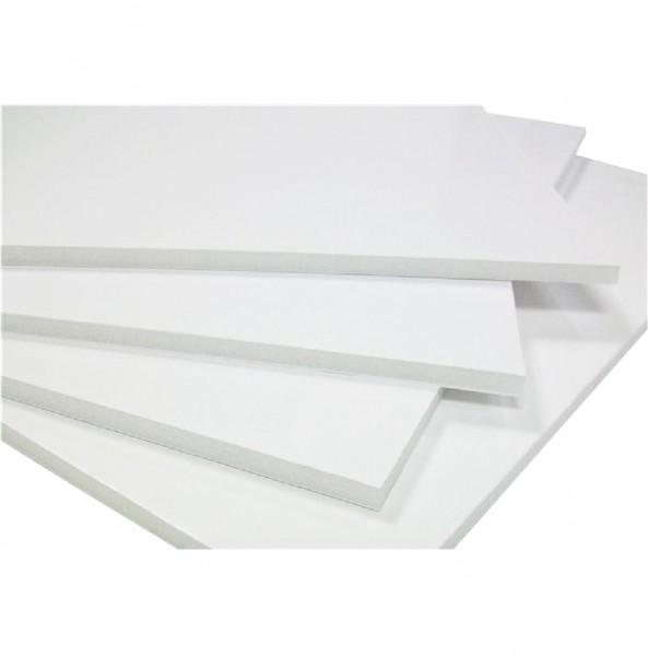 5 mm 50x70cm foamboard wit (Doos van 25 - 25%)