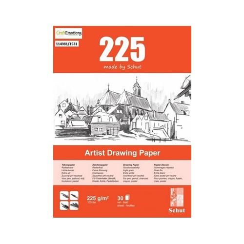 Schut Artist Drawing Paper 225 A4