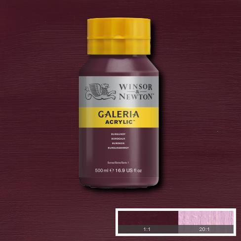 Galeria Acryl 500ml 075 S1 Burgundy