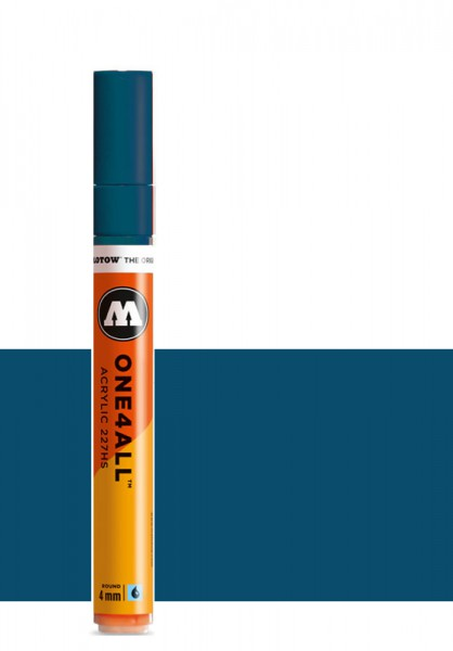 Molotow One4All Acryl Marker 227HS 4mm PETROL Paint marker