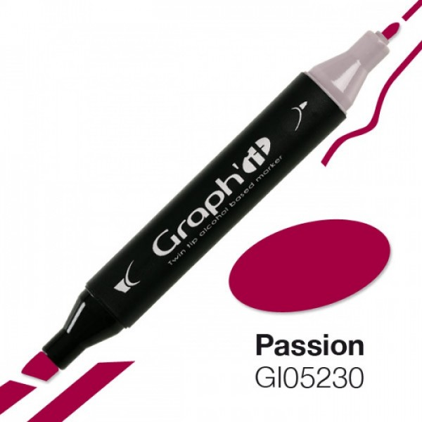 Graph'it marker 5230 Passion Alcohol Marker