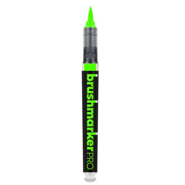 Neon Yellow Green Karin marker Aquarelmarker