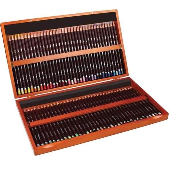 Derwent Coloursoft kleurpotloden set hout 72 stuks