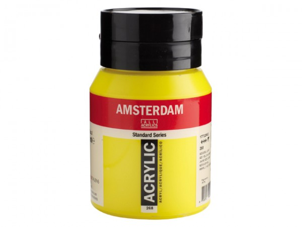 Amsterdam Acryl 500ml 268 Azogeel Licht