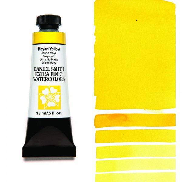 Mayan Yellow Serie 3 Watercolor 15 ml. Daniel Smith