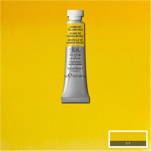 Artist's Aquarel Cadmium Yellow Pale 5ml 118 S4